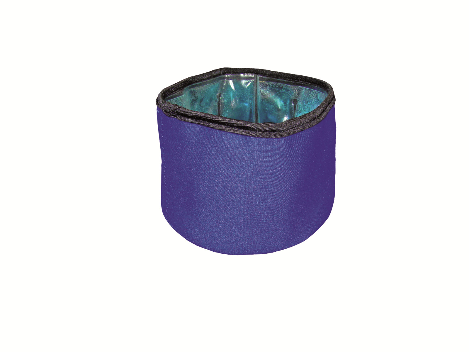 Миска для животных Nobby Fresh, охлаждающая, складная, 62215, синий, 300 мл