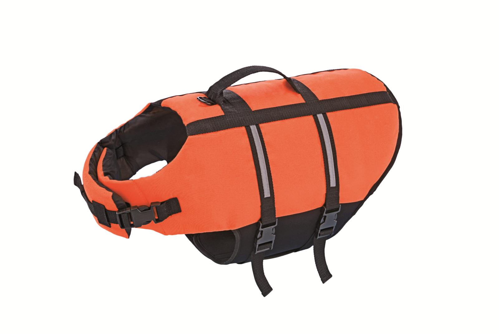 Одежда для собак Nobby Жилет Dog Buoyancy Aid, 78576, оранжевый, 30 см