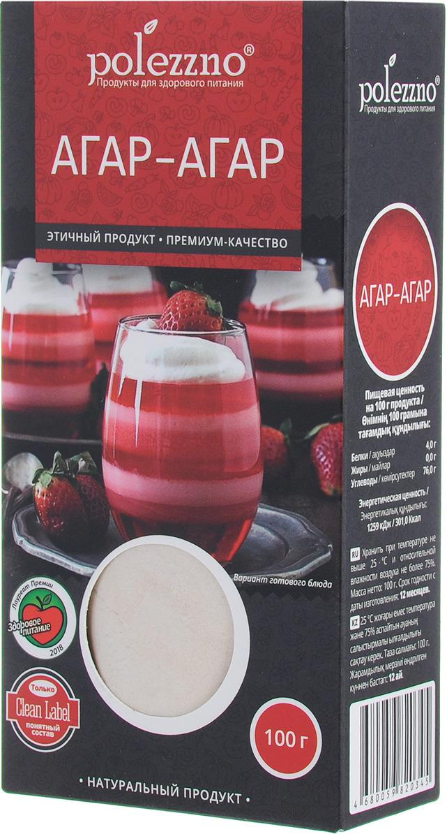 Агар-агар Polezzno, 100 г цена