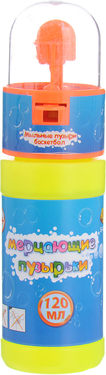 Мыльные пузыри ABtoys, S-00152, цвет в ассортименте мыльные пузыри abtoys мерцающие пузырьки машина для пузырей s 00148