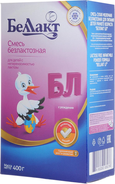 Беллакт БЛ смесь молочная сухая безлактозная с рождения, 400 г