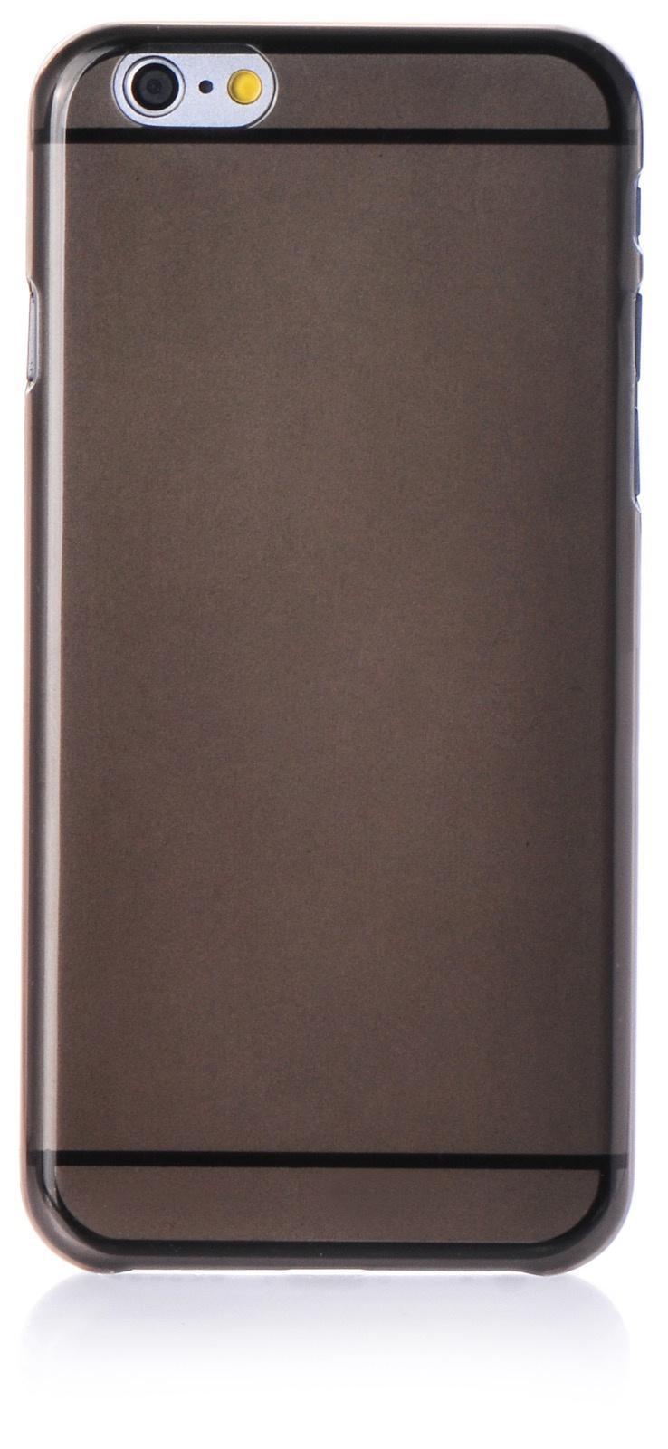 Чехол накладка Gurdini пластик 0.3 мм для Apple Iphone 6/6S,907970,черный