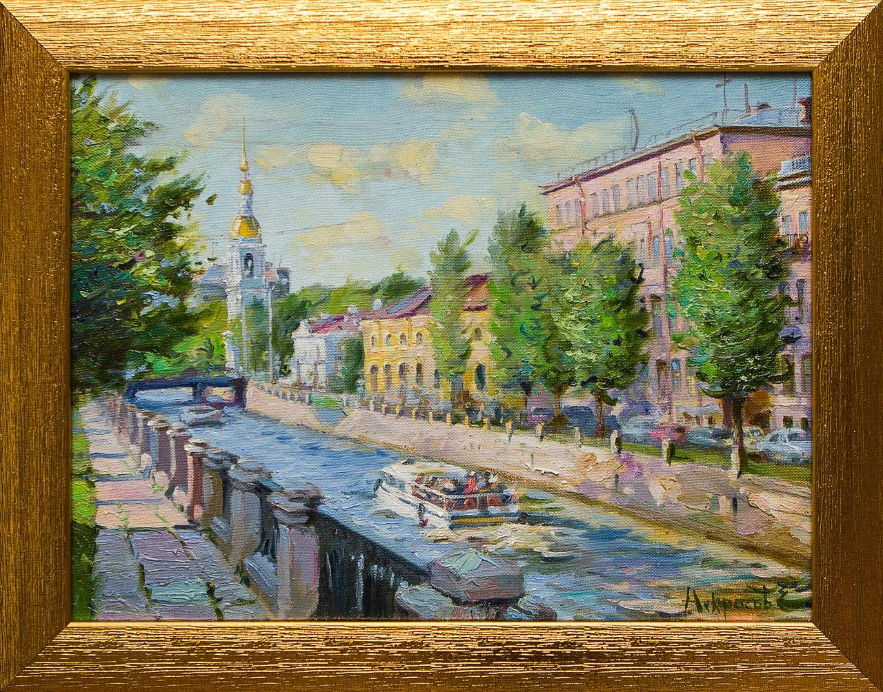 Крюков канал и колокольня Никольского собора е катерли некрасов