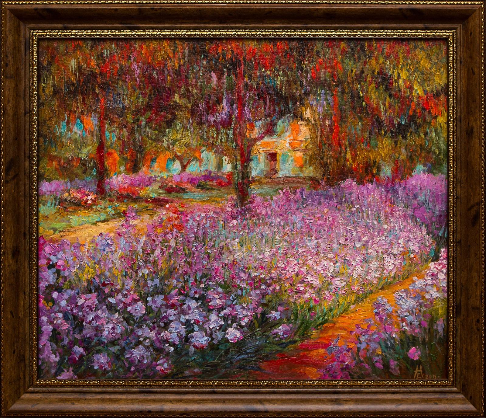 Сад художника в Живерни е катерли некрасов
