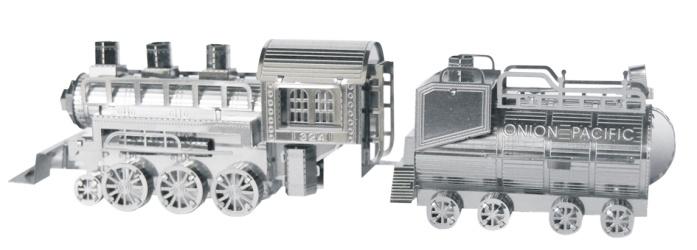 TUCOOL Мини 3D декоративный сувенир - сборная модель из металла Паровоз