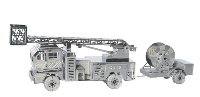 TUCOOL Мини 3D декоративный сувенир - сборная модель из металла Пожарная машина