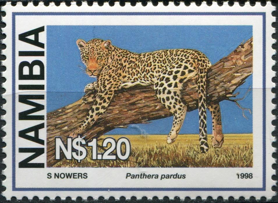 Намибия. 1998. Леопард (Почтовая марка. MNH OG)