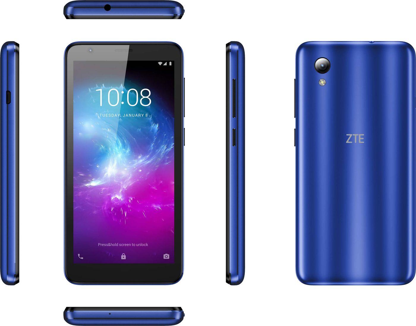 Смартфон ZTE Blade А3 1/16GB, синий