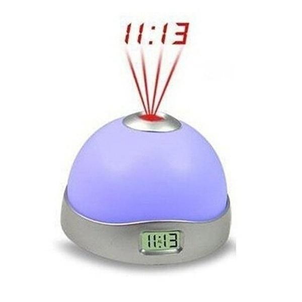 Настольные часы TopSeller Цифровой проекционный будильник часы проекционные с термометром rst 32758