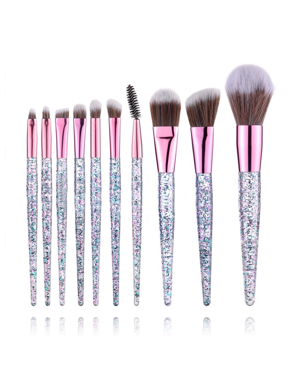 Набор кистей для макияжа 10 штук CB005 TOUCHING NATURE цена