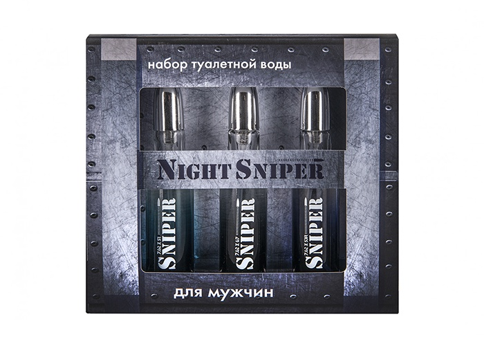 Парфюмерный набор для мужчин Night Sniper 3*20 мл