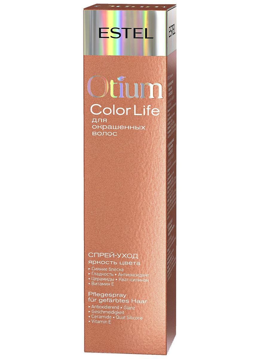 """Спрей-уход для волос """"Яркость цвета"""" OTIUM COLOR LIFE, 100 мл"""