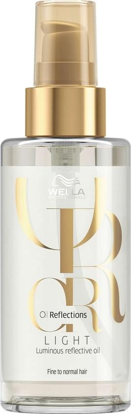 Wella Oil Reflections Light Luminous Reflective Oil - Легкое масло для сияющего блеска волос 100 мл