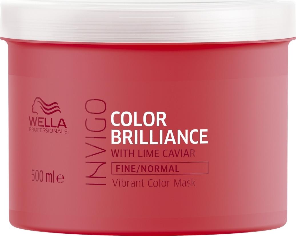 Wella Invigo Color Brilliance Маска-уход для защиты цвета окрашенных тонких и нормальных волос, 500 мл цены онлайн