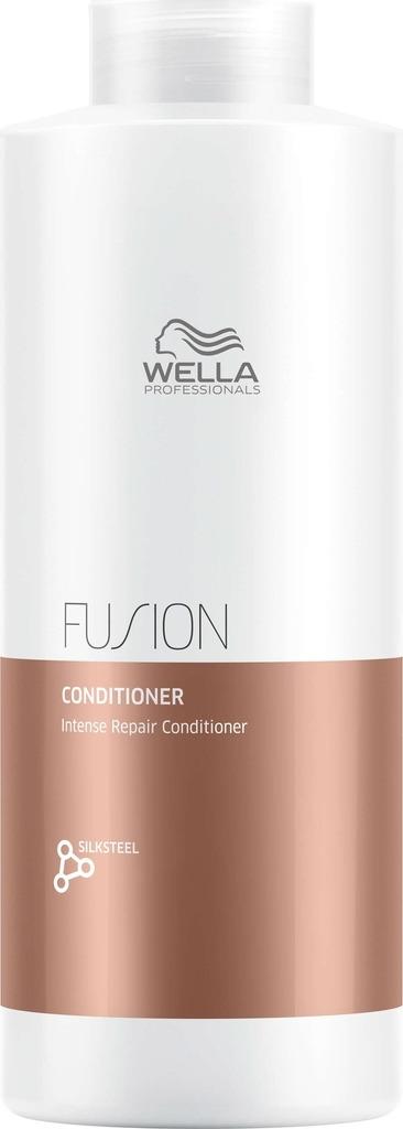 Wella Professionals Fusion Conditioner - Интенсивно восстанавливающий бальзам 1000 мл teana восточная сюита интенсивно восстанавливающий бальзам от выпадения волос с ферментами и клетками буддлея давидии 250 мл