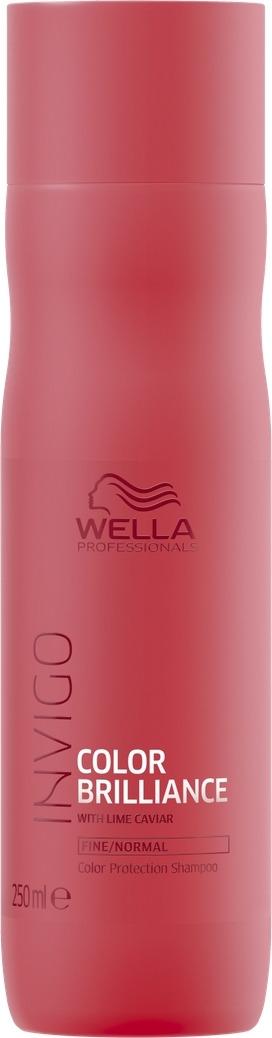 Wella Invigo Color Brilliance Шампунь для защиты цвета окрашенных нормальных и тонких волос, 250 мл цены онлайн