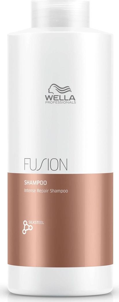 Wella Professionals Fusion Shampoo - Интенсивно восстанавливающий шампунь 1000 мл интенсивный восстанавливающий шампунь 250 мл wella professional fusion