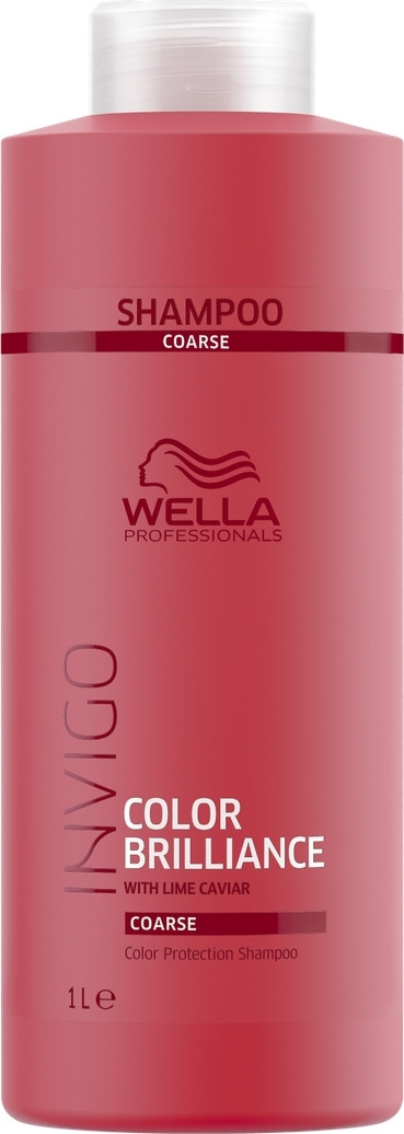 Wella Invigo Color Brilliance Шампунь для защиты цвета окрашенных жестких волос, 1 л цены онлайн