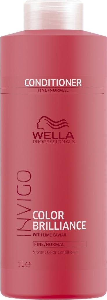 Wella Invigo Color Brilliance Бальзам-уход для защиты цвета окрашенных нормальных и тонких волос, 1 л цены онлайн
