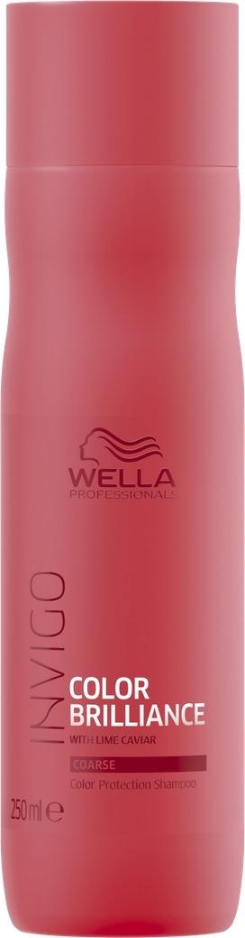 Wella Invigo Color Brilliance Шампунь для защиты цвета окрашенных жестких волос, 250 мл цены онлайн