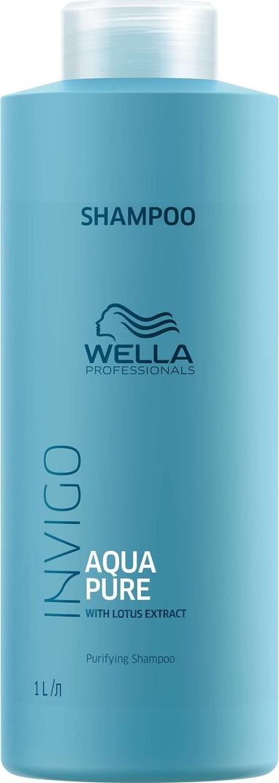 Wella Invigo Aqua Pure Очищающий шампунь, 1 л