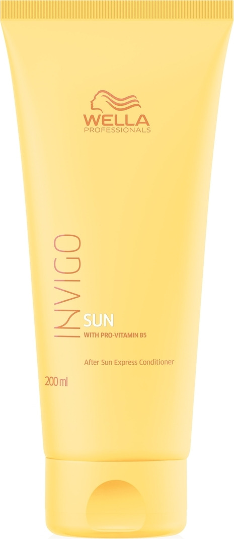 Фото - Экспресс-бальзам для волос Wella Professionals Invigo Sun, после солнца, 200 мл revlon бальзам для экспресс увлажнения волос instant hydra 750 мл