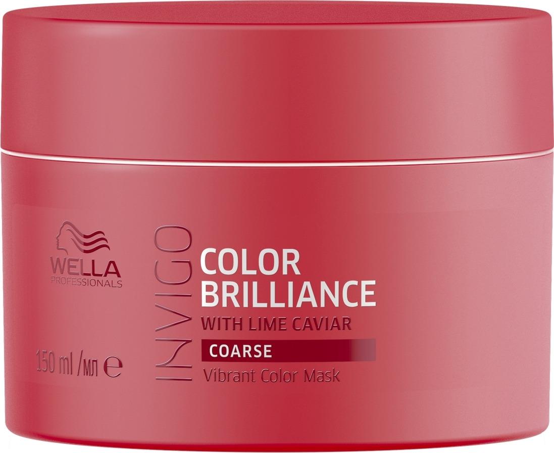 Wella Invigo Color Brilliance Маска-уход для защиты цвета окрашенных жестких волос,, 150 мл цены онлайн