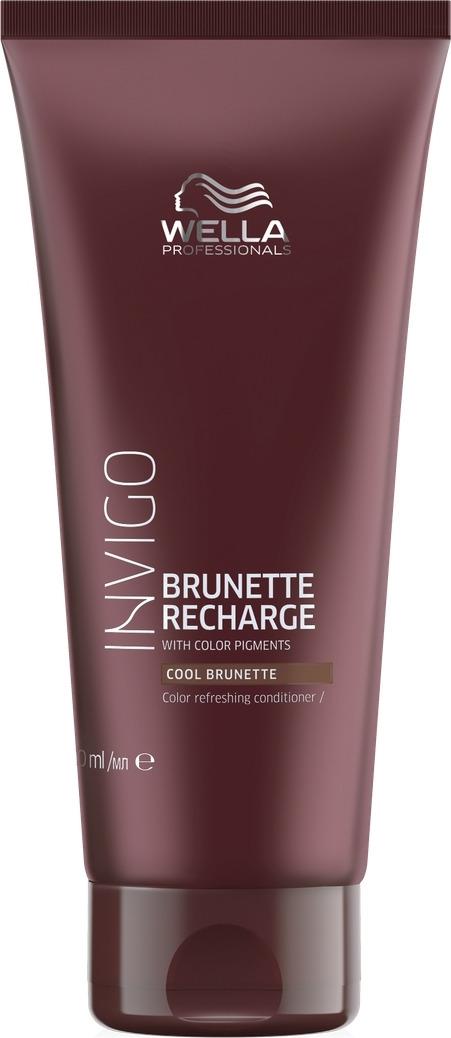 Wella Invigo Color Recharge Оттеночный бальзам-уход для холодных коричневых оттенков, 200 мл
