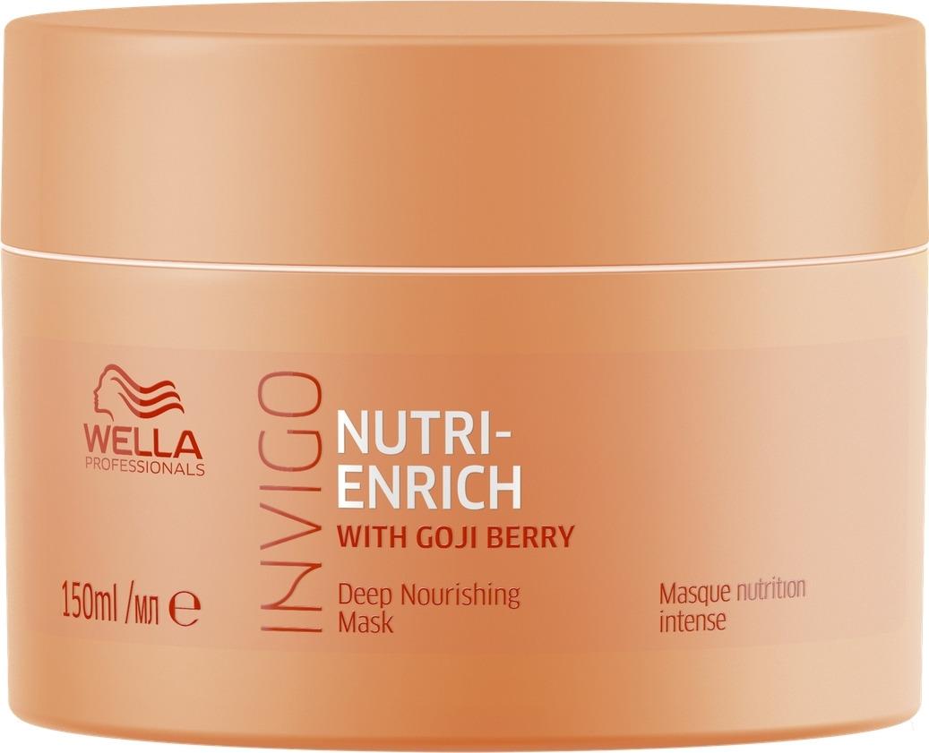 Фото - Wella Invigo Nutri Enrich Питательная маска-уход, 150 мл wella питательный крем бальзам nutri enrich 150 мл