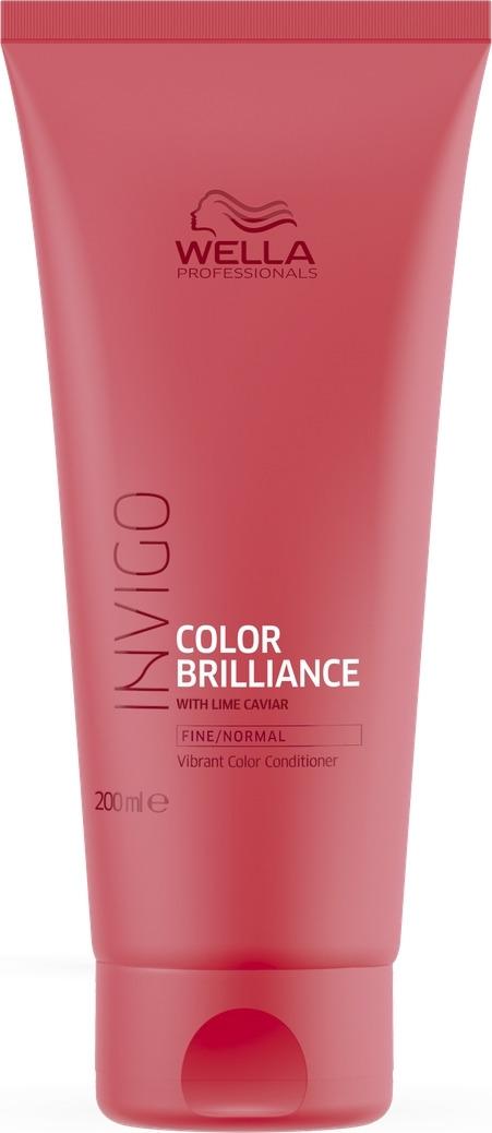 Wella Invigo Color Brilliance Бальзам-уход для защиты цвета окрашенных нормальных и тонких волос, 200 мл цены онлайн