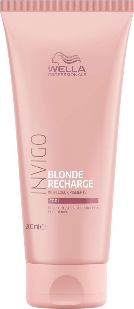 Wella Invigo Blond Recharge Оттеночный бальзам-уход для холодных светлых оттенков, 200 мл