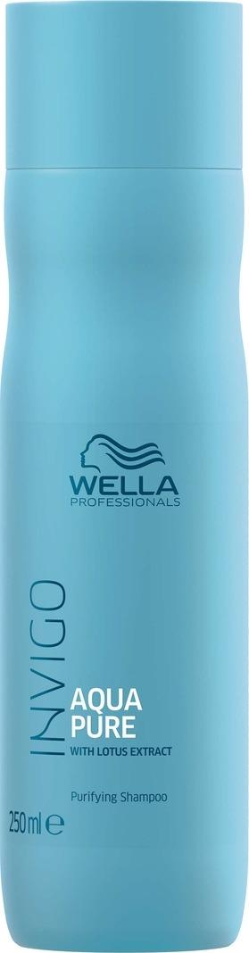 Wella Invigo Aqua Pure Очищающий шампунь, 250 мл