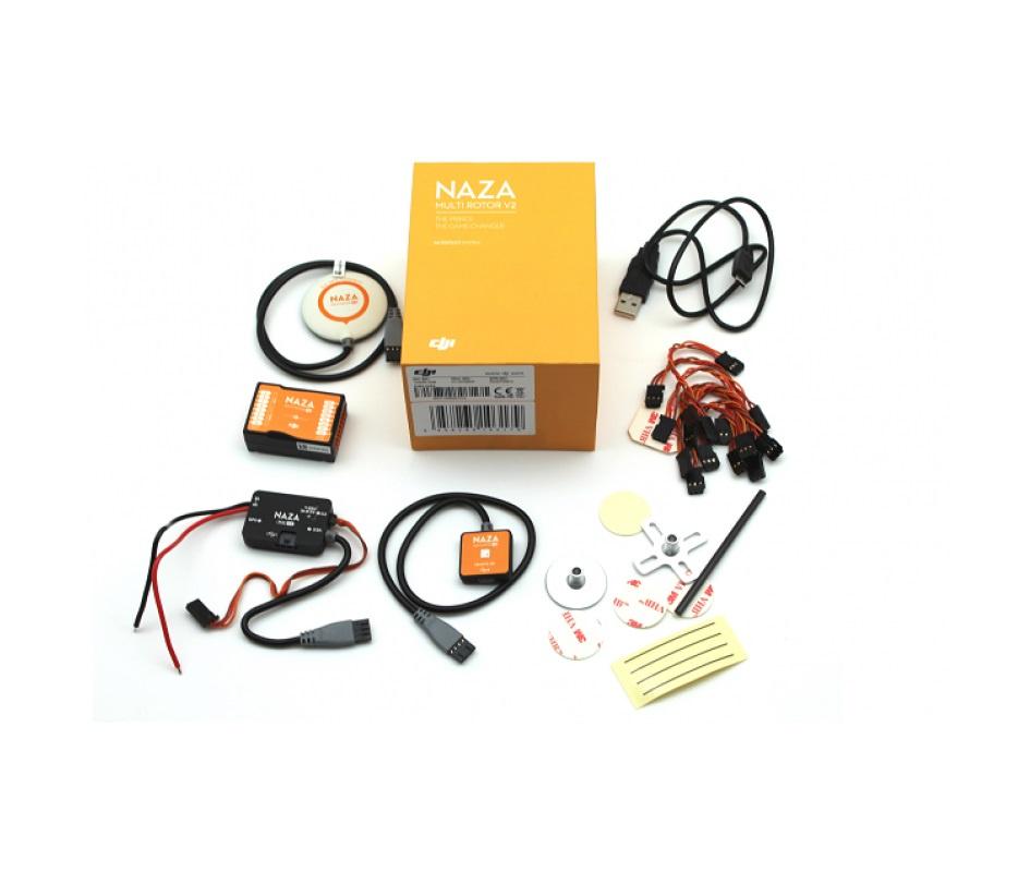 Полетный контроллер с GPS для мультикоптера DJI Naza-M V2 Combo