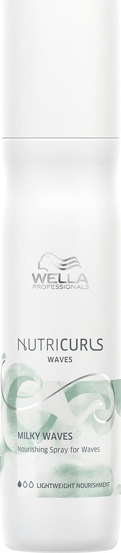 цена на Спрей для блеска, объема и гладкости кудрявых и вьющихся волос Wella Professionals Nutricurls EIMI Fresh Up 72H Anti Frizz Spray, 150 мл