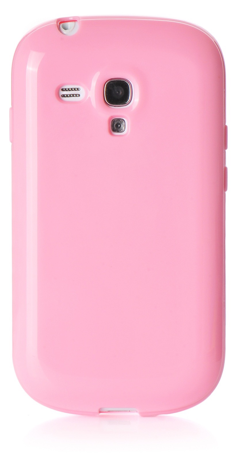 Чехол для Samsung Galaxy S3 mini накладка силикон мыльница pink для Samsung Galaxy S3 mini