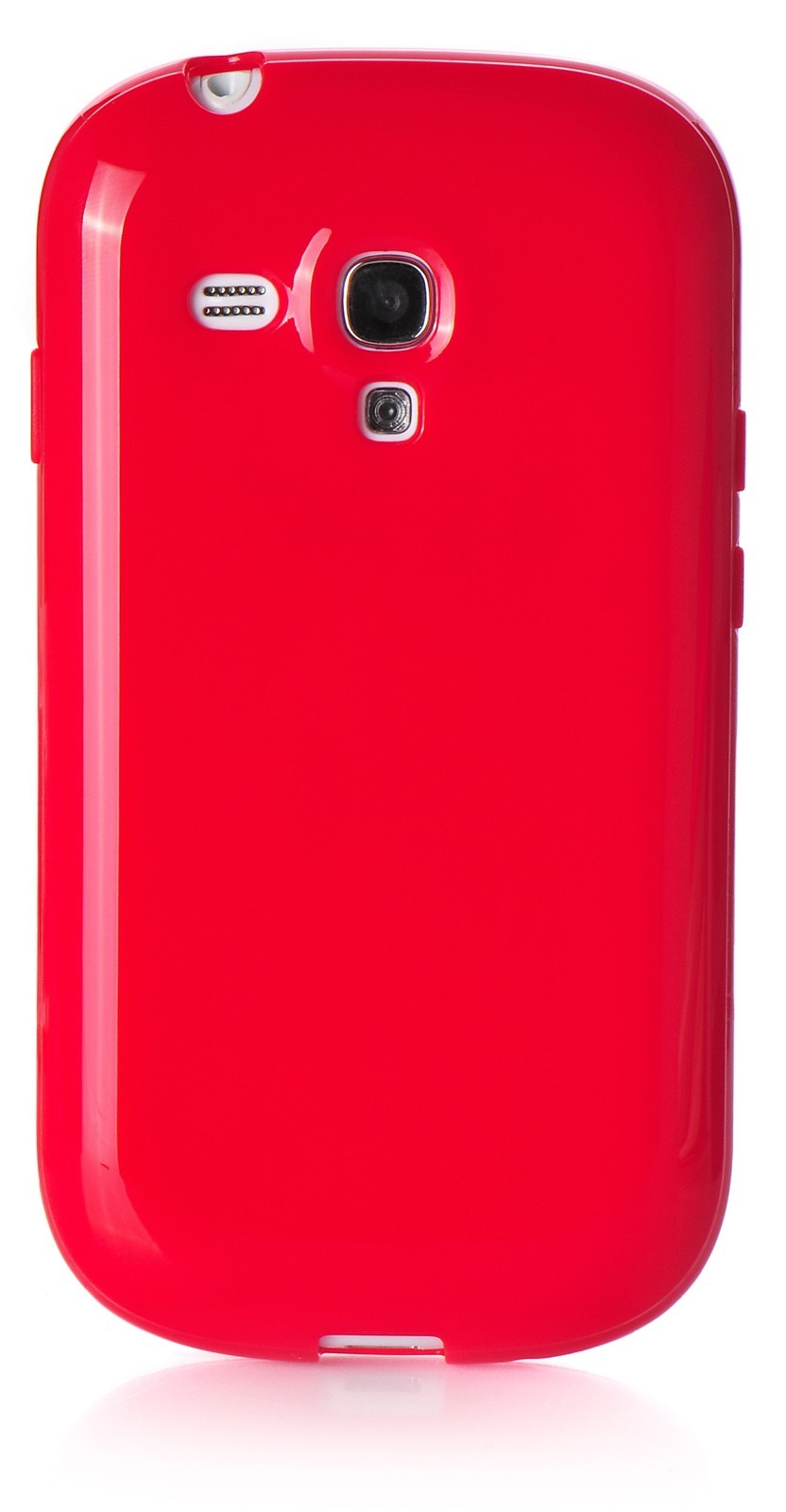 Чехол iNeez накладка силикон мыльница red для Samsung Galaxy S3 mini,420027, красный