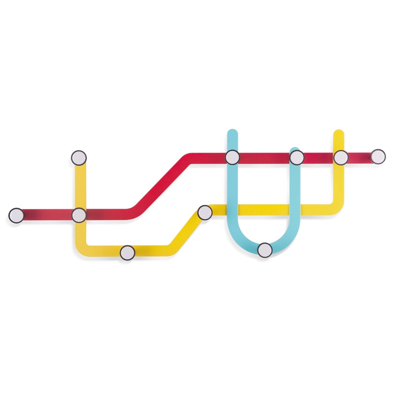 Вешалка Umbra Subway вешалка настенная umbra 57 5х20 5 см subway 318187 370