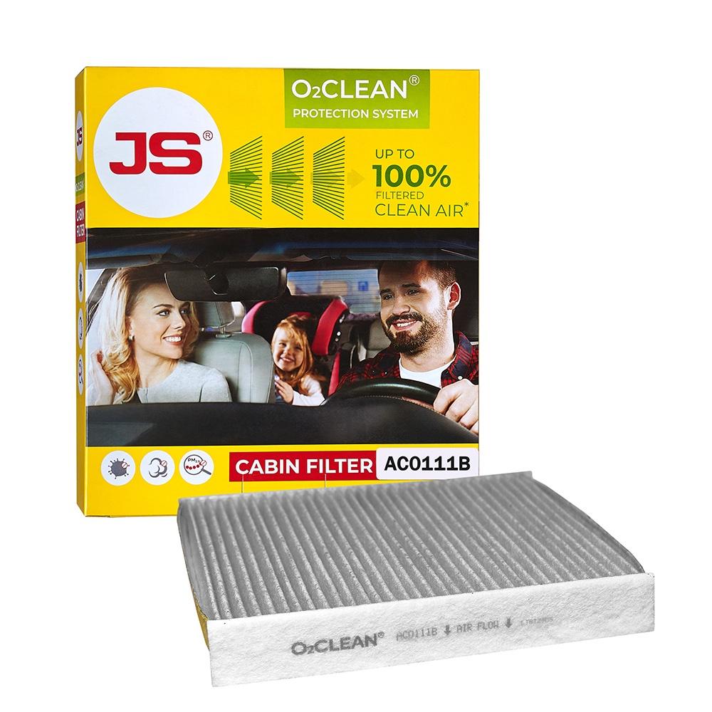 Салонный фильтр JS O2CLEAN AC0111B видеорегистратор в штатное место redpower dvr fod3 n для ford mondeo v 2014