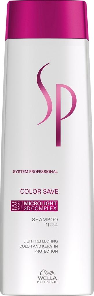 все цены на Wella SP Шампунь для окрашенных волос Color Save Shampoo, 250 мл онлайн