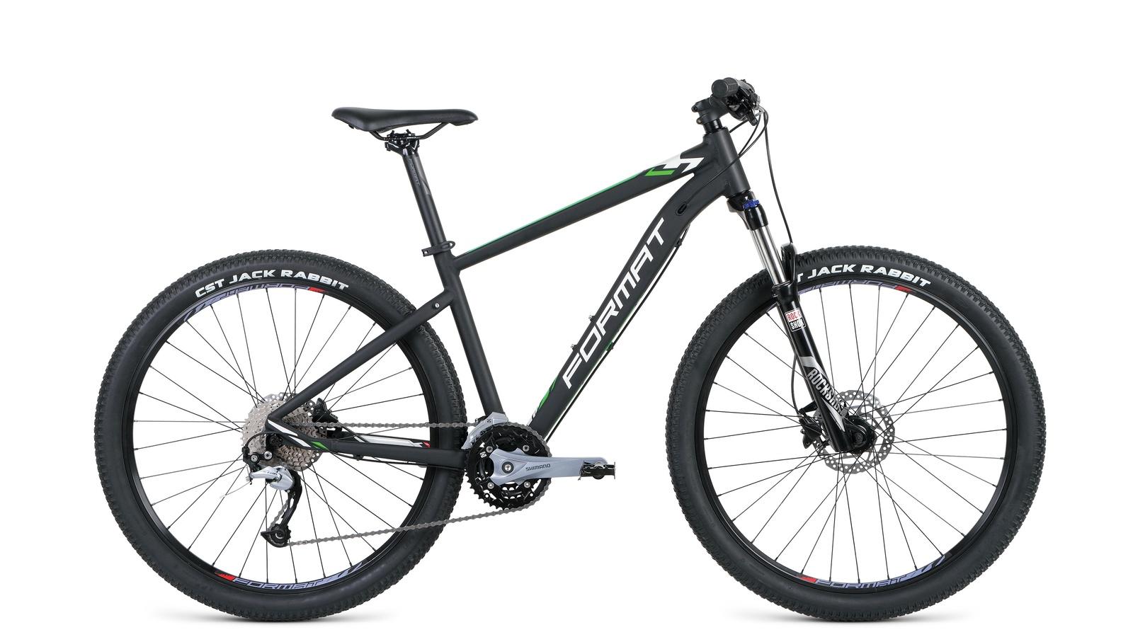 цена на Велосипед Format 1411 2019 рост M черный мат.