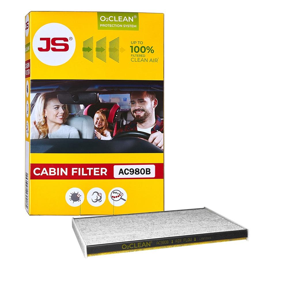 Салонный фильтр JS O2CLEAN AC980B цена 2017