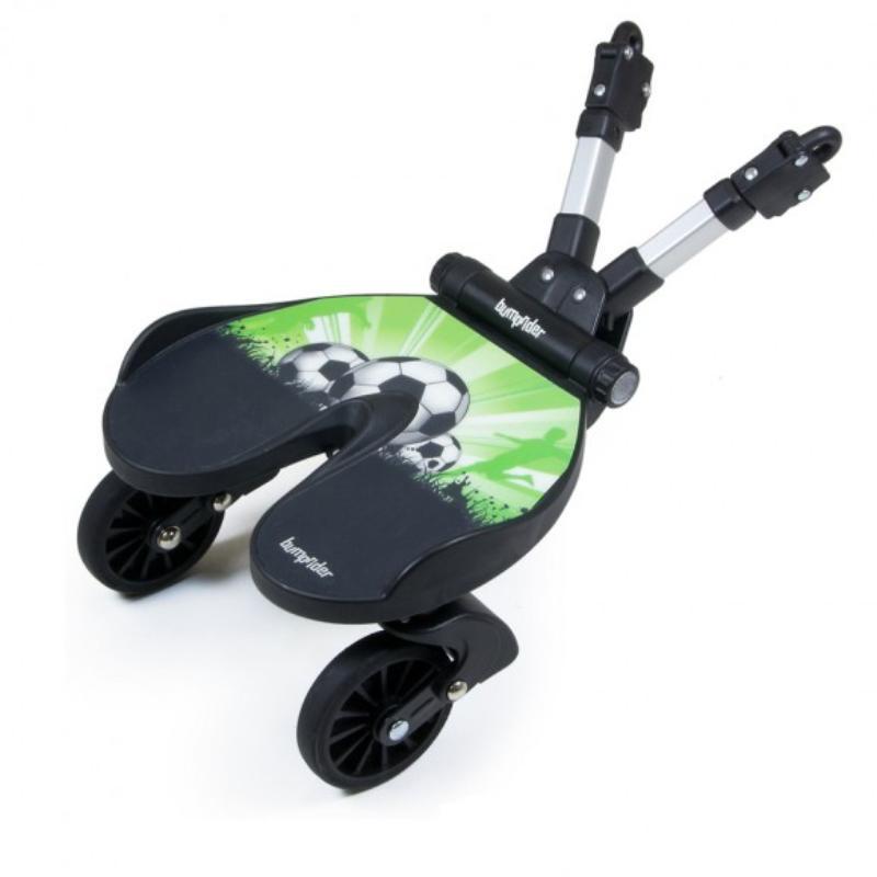 Bumprider подножка для второго ребенка цв. Football аксессуары для колясок litaf подножка для второго ребенка e z step