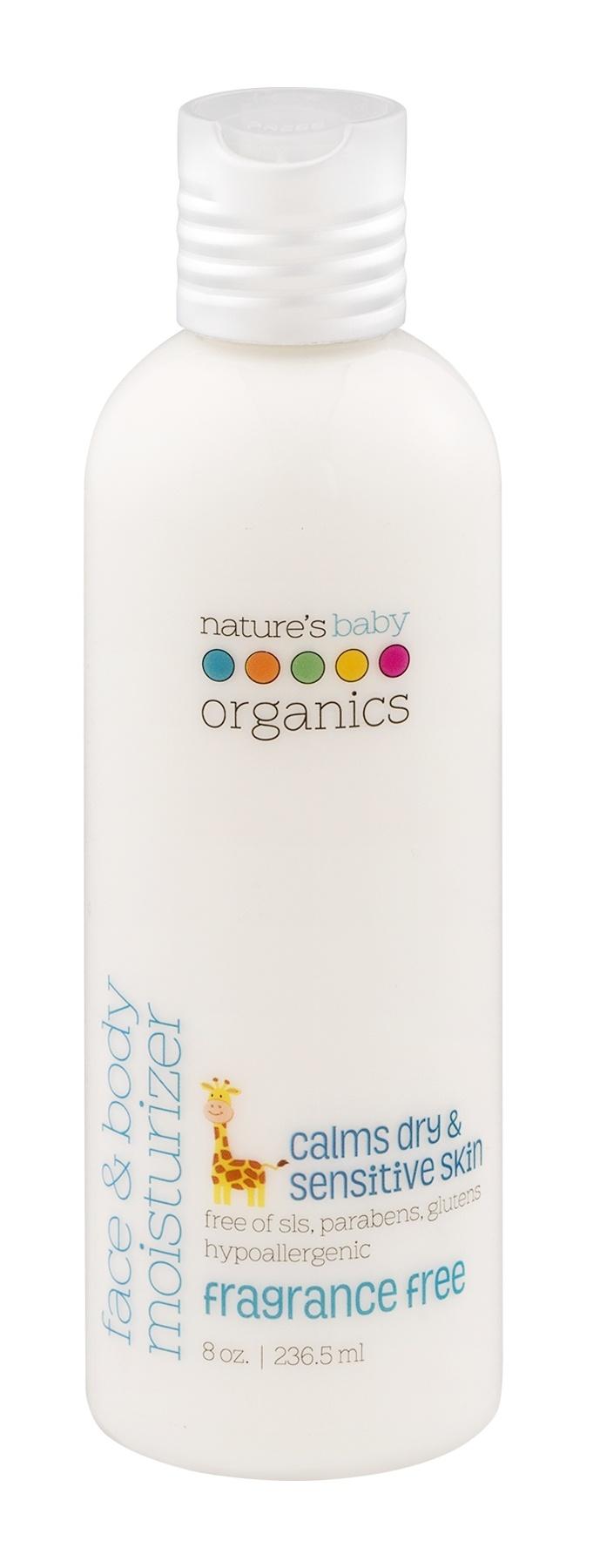 Увлажняющее молочко для лица и тела Natures Baby Organics