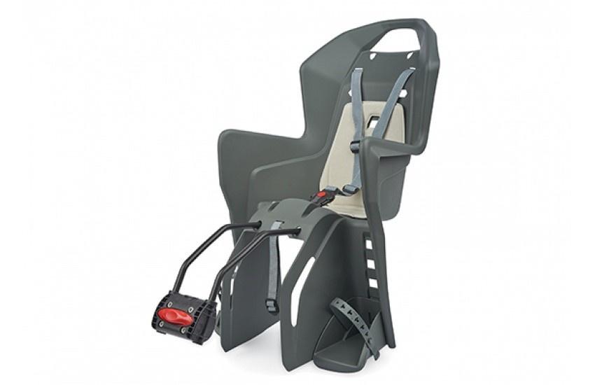 цена на Велокресло детское Polisport KOOLAH FF 29,цвет: темно-серый / кремовый
