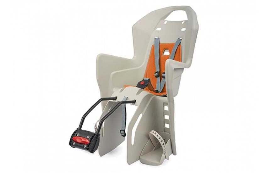 цена на Велокресло детское Polisport KOOLAH FF 29,цвет: бежевый/оранжевый.