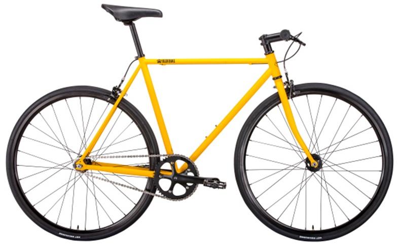 Велосипед Bear Bike Vegas 2019 рост 540 мм желтый