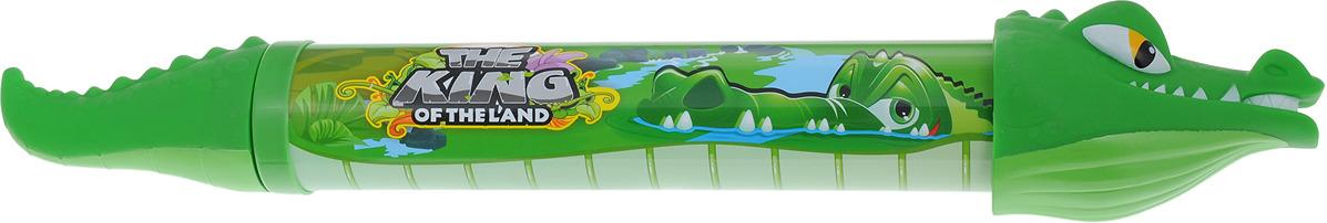 Игрушечное оружие 1TOY Аквамания Водяная помпа Крокодил, Т59470, 54 см