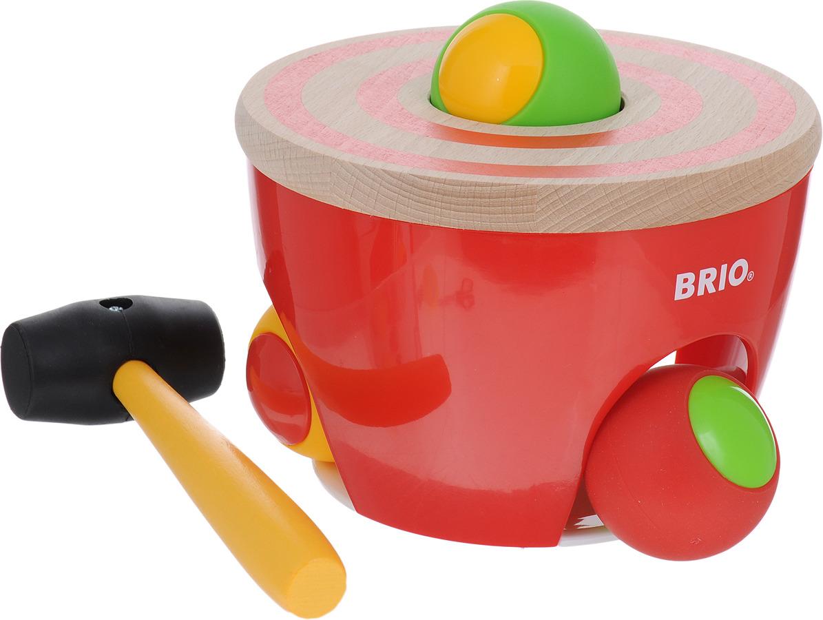 Игровой набор Brio Развивающий барабан, 30519 игровой набор brio smart tech железнодорожный набор 33873 17 элементов