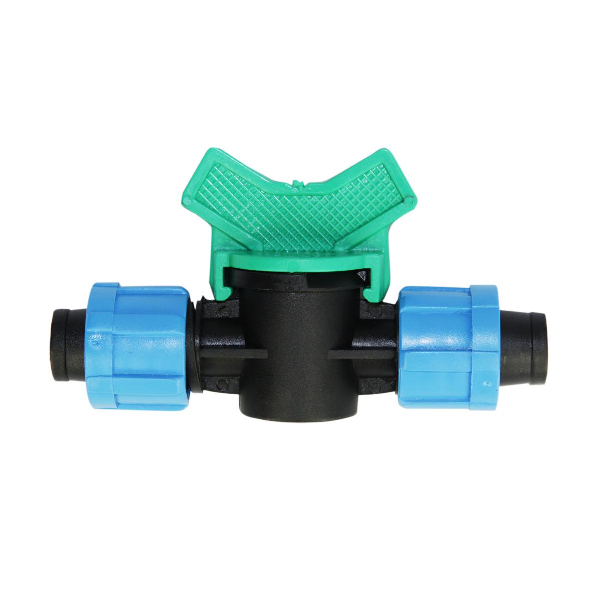 Кран проходной MasterProf MP-У, для ленты капельного полива