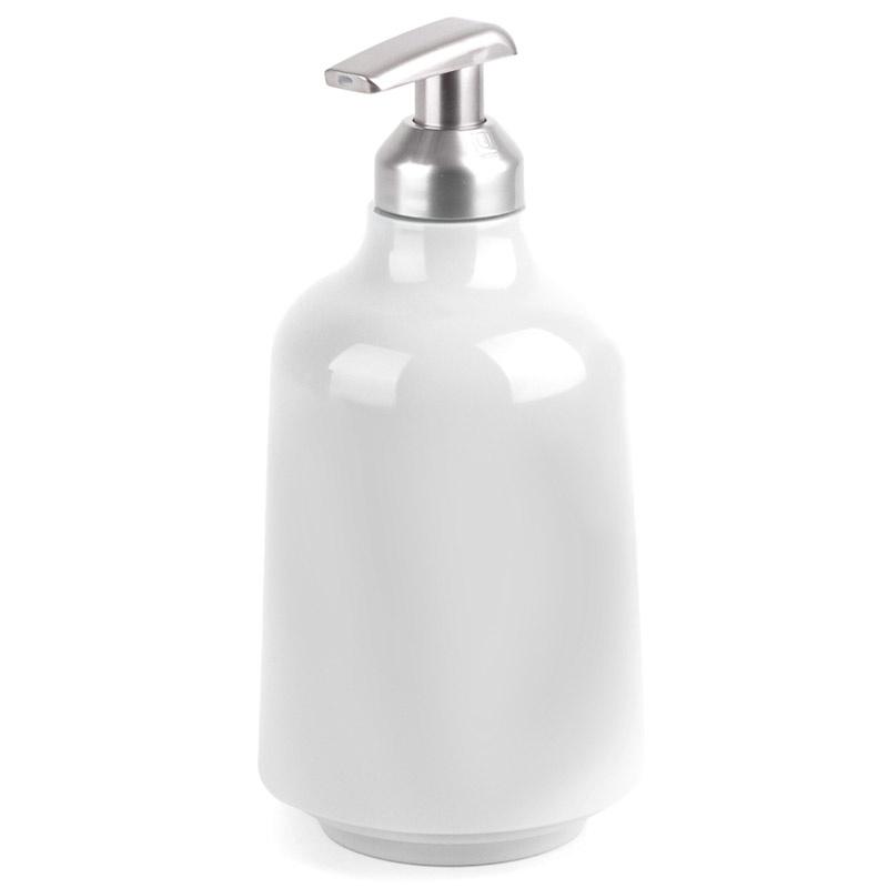 Диспенсер для жидкого мыла Umbra Step белый